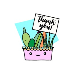 Cactus Love stickers by jans