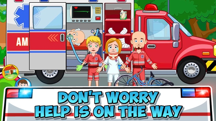 My Town : Fire station Rescue