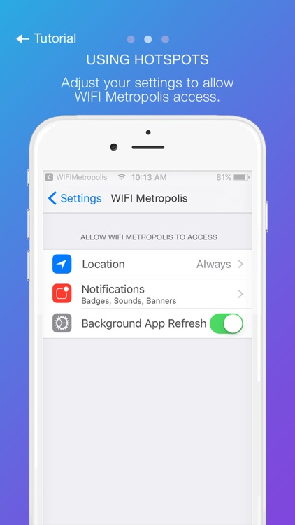 WIFI Metropolis screenshot-1