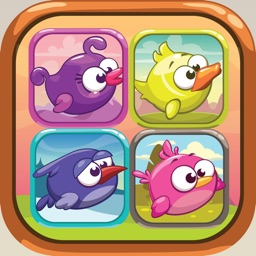 Cube Bird Match 3 Game