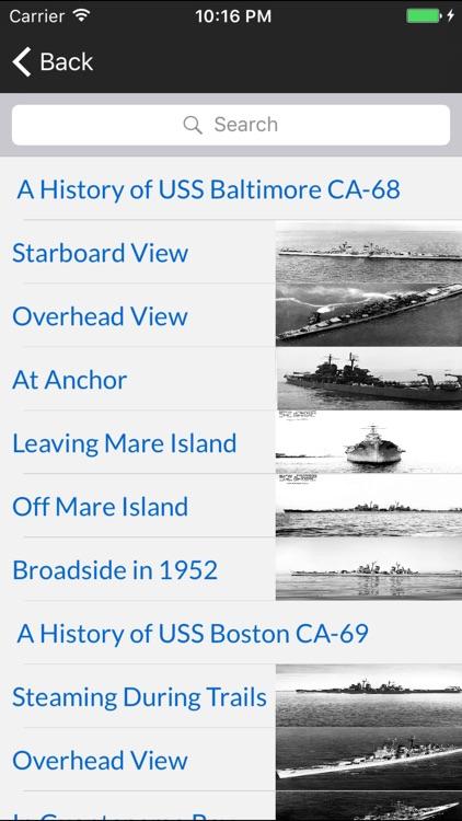 Cruisers of the US Navy screenshot-4