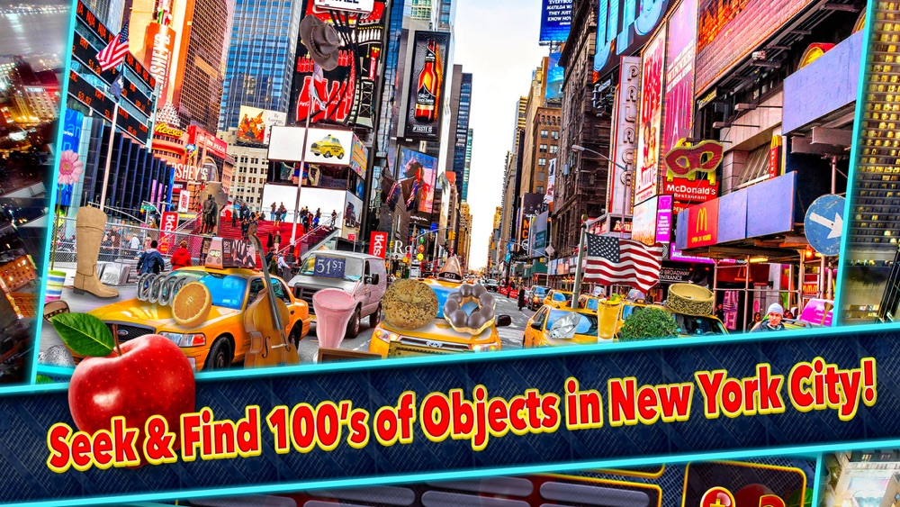 Hidden Objects New York City Object Time Spy Games hack tool
