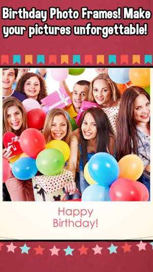 Birthday Collage Frames Photo Editor on the App Store