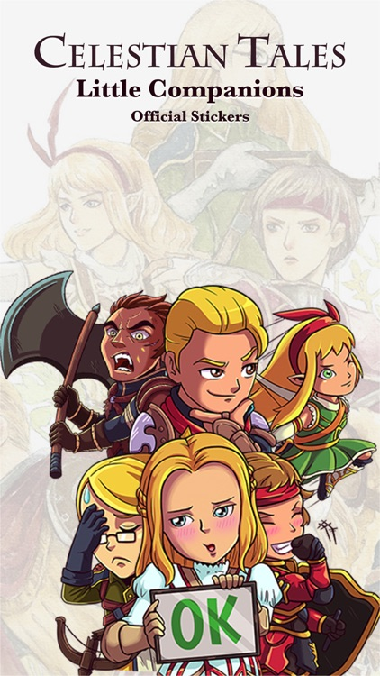 Celestian Tales - Little Companions Sticker