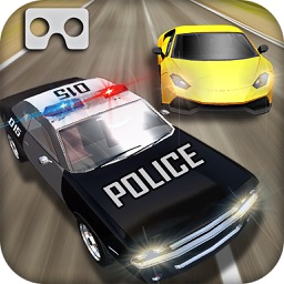 vr police hot pursuit chase : virtual reality game