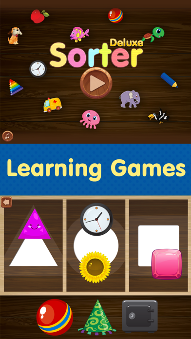 Toddler Educational Learning Games. Kids Apps Free screenshot 1