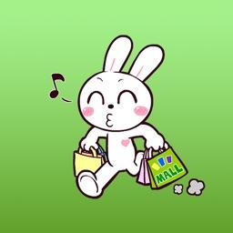 Simply A Cute Rabbit