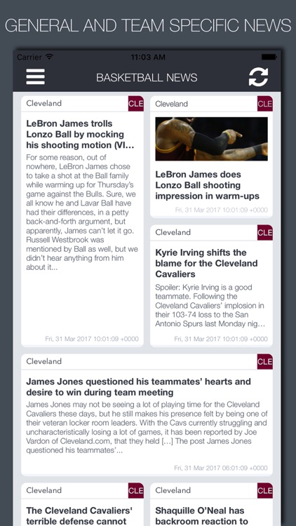 Live Basketball News & Predictions screenshot-3