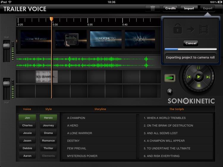 Trailer Voice screenshot-4