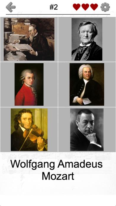 Famous Composers of Classical Music: Portrait Quiz screenshot 4