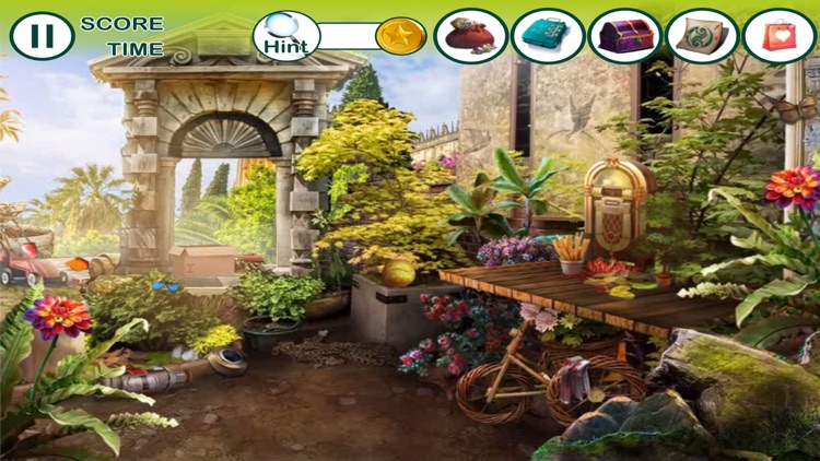 hidden object: The enchanted city