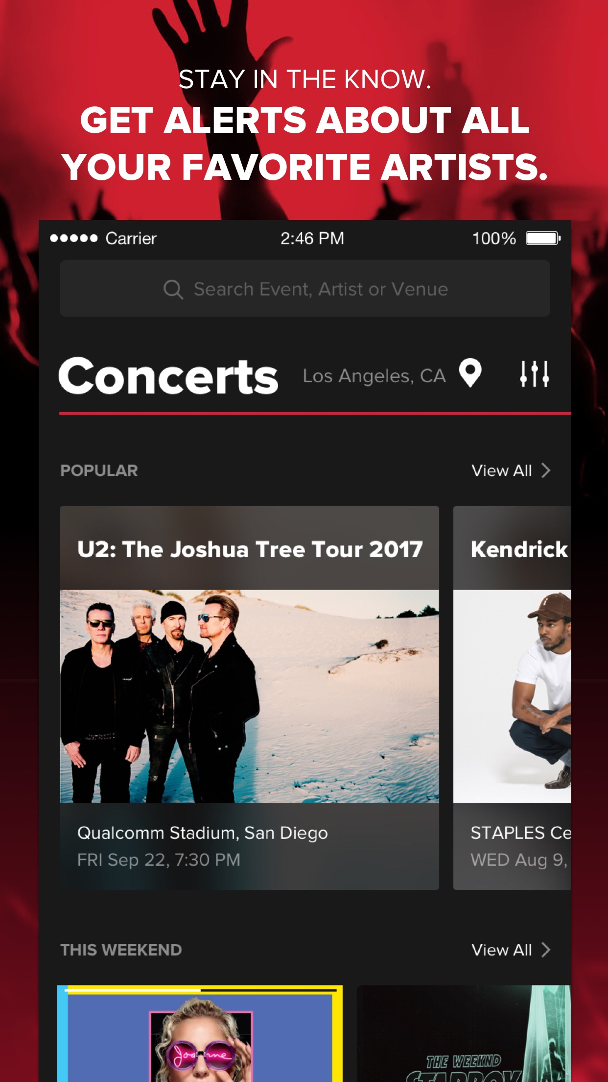 Live Nation - Tickets, Presales & Event Info Screenshot