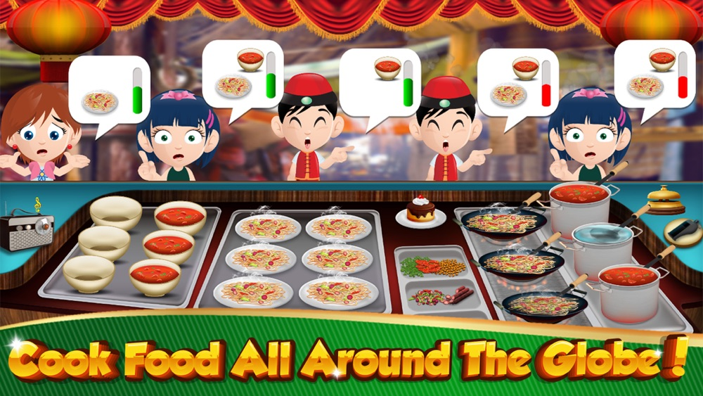 Cooking Games Burger HOT Fast Food Restaurant Chef