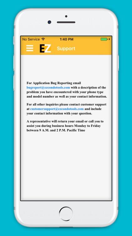 EZ Condo Tools screenshot-3
