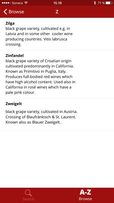 Wine Dictionary screenshot three