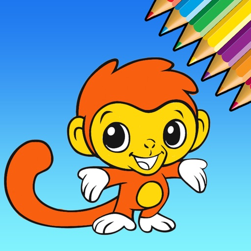 Cute Animal Coloring Book - Learn Drawing for Kids