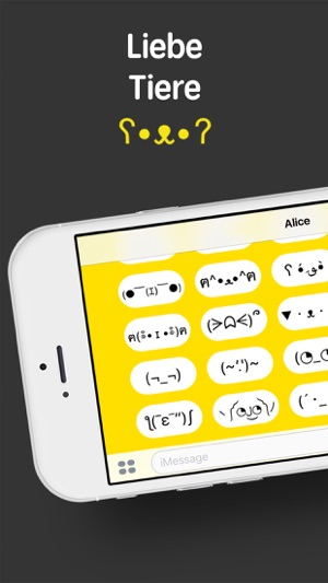 iShrug: Textemoji für  iMessage Screenshot