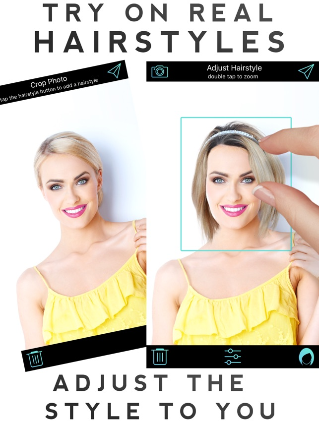 Astounding Hairstyle Makeover On The App Store Schematic Wiring Diagrams Amerangerunnerswayorg