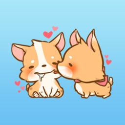 Corgi Dog - Pretty dog stickers