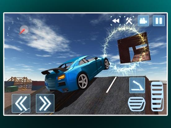 Трюки экстрим автомобиль дрейфующих на iPad