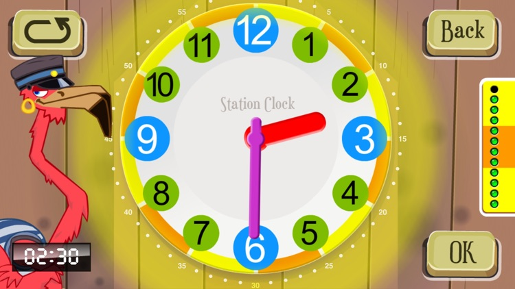 Fun Clock for Kids - Learn to tell time