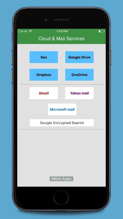 Cloud - Mail for GoogleDrive,Dropbox,Box,Onedrive