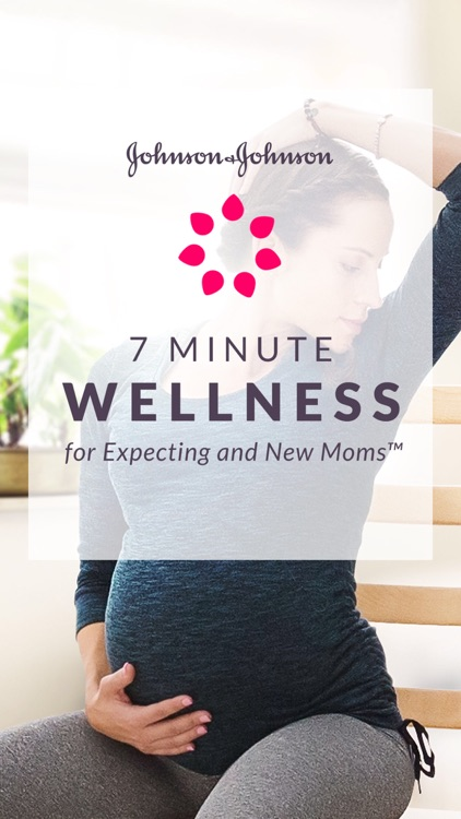 J&J 7 Minute Wellness for Moms