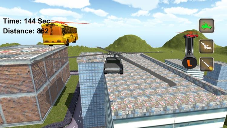 Super Flying Car Racing Games screenshot-4