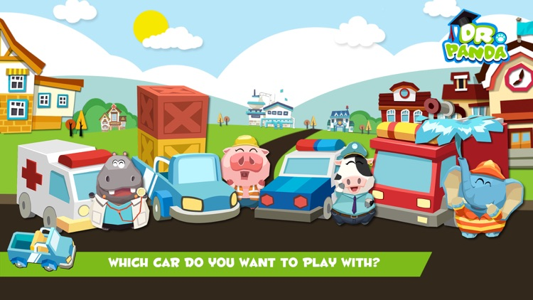 Dr. Panda Toy Cars Free screenshot-3