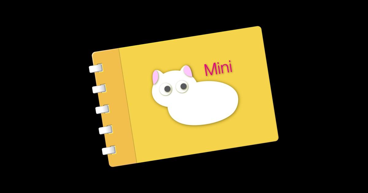 Scrapbook Mini with Neko on the Mac App Store