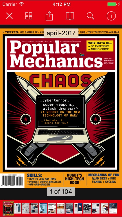 Popular Mechanics SA screenshot-1