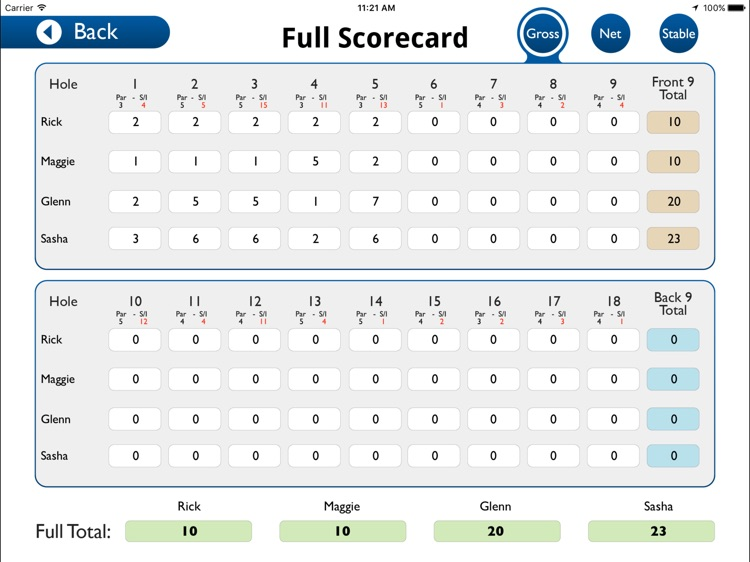 Howley Hall Golf Club - Buggy screenshot-3