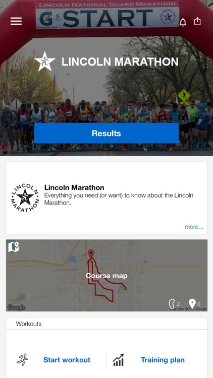 Lincoln Marathon 2017