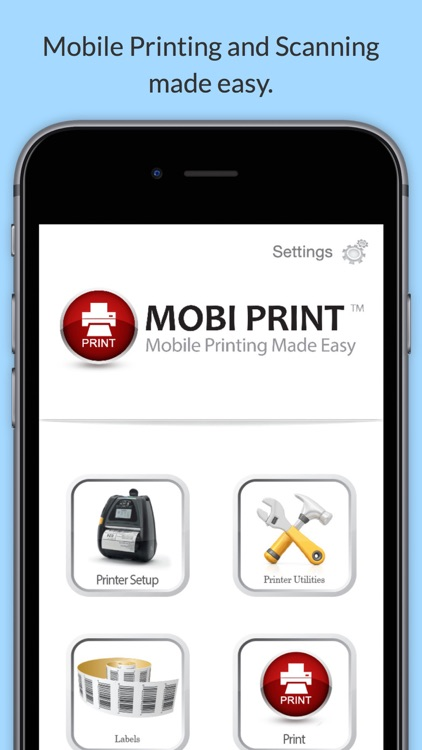 Mobi Print Enterprise screenshot-0
