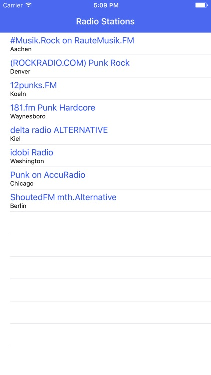 Radio Channel Punk FM Online Streaming by Kai Hoeher