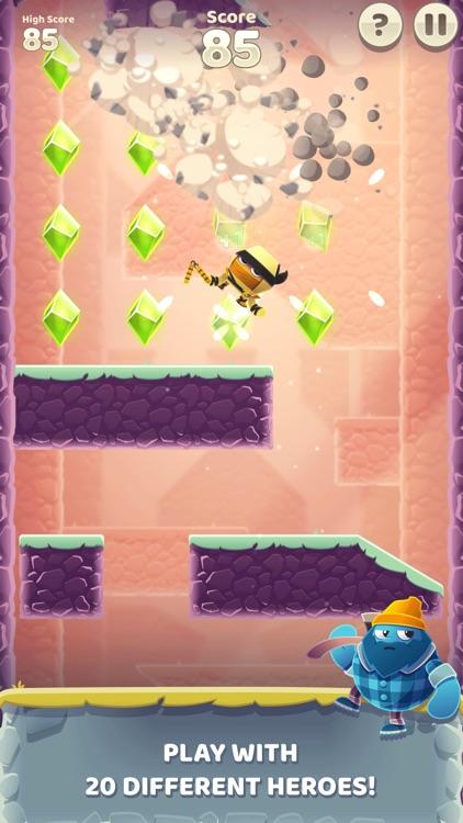 Canyon Crash - Fall Down screenshot-3