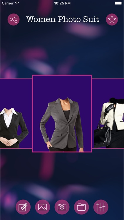 Women Photo Suit & Editor