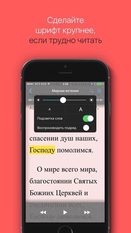Песнопения Поста и Пасхи! screenshot-3