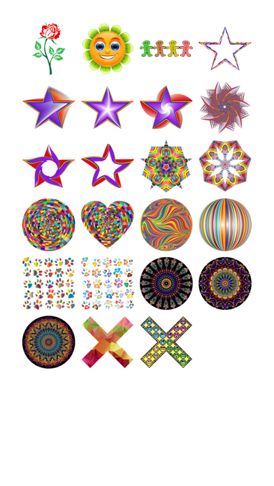 Colorful Four Sticker Pack!