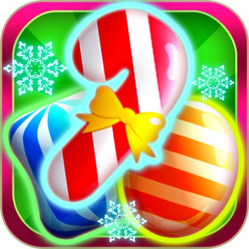 Candy Games Christmas 2015 - Xmas Soda Candies Icon