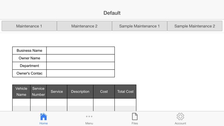 Vehicle Maintenance Pro screenshot-3