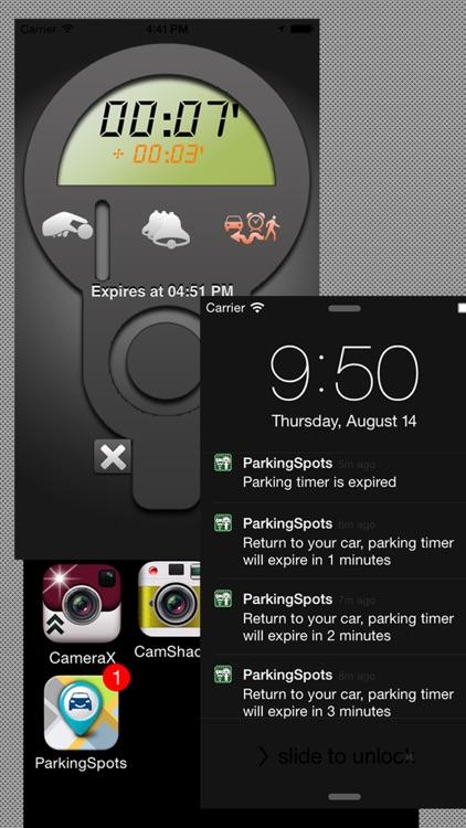 Parking+GPS Locations screenshot-3