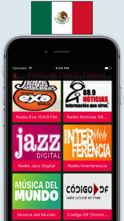 Radio Mexico FM AM - Live Radios stations Online screenshot-3