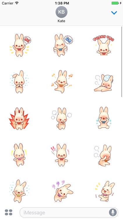 Bunny Lola stickers pack