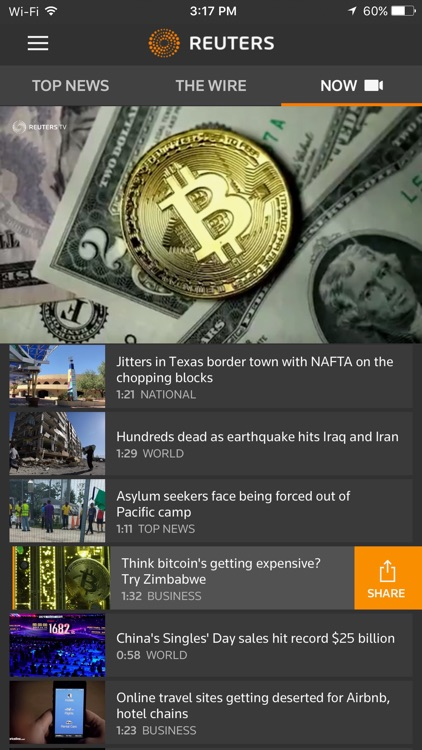 Reuters News screenshot-2