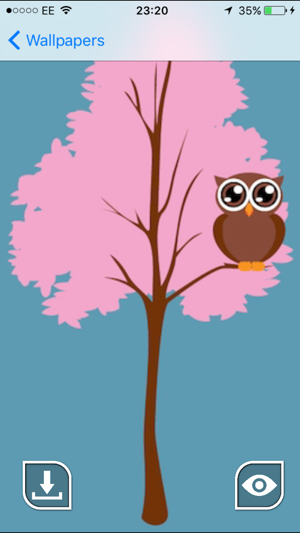 Cute owl wallpapers on the app store cute owl wallpapers on the app store voltagebd Image collections