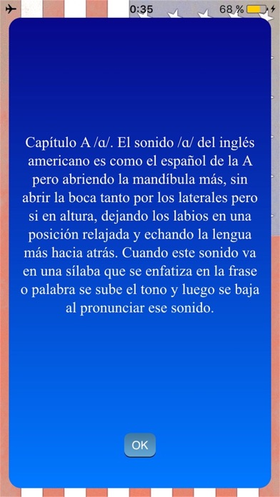 Inglés Americano Sonidos screenshot three