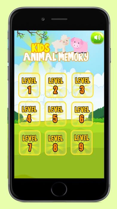 Kids Animals Memory screenshot one