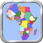 非洲地图拼图 icon