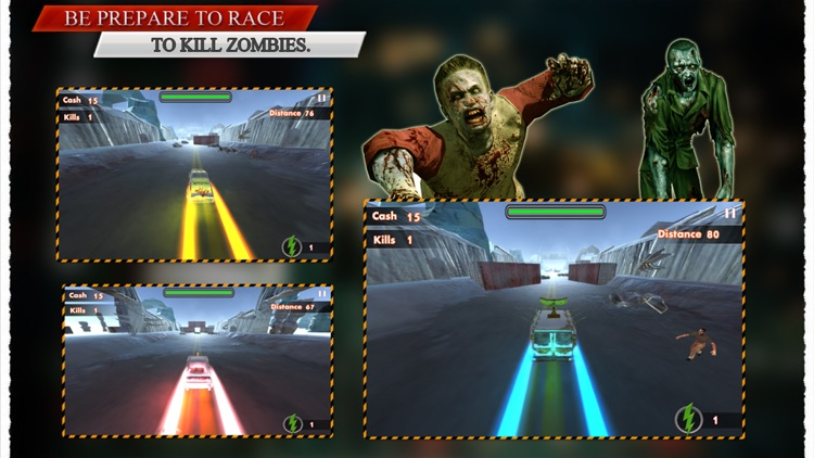 Racing N Kill Zombie